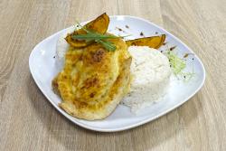 Grillezett őszibarackos csirkemell