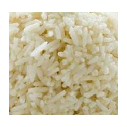 Párolt rizs