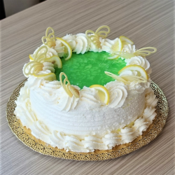 Tejszínes citrom torta