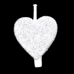Szív - Fehér