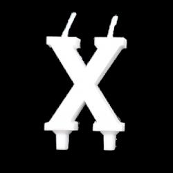 X - Fehér