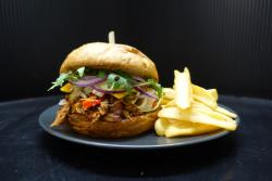 Pulled Pork Burger Box 0,33 l-es Pepsivel